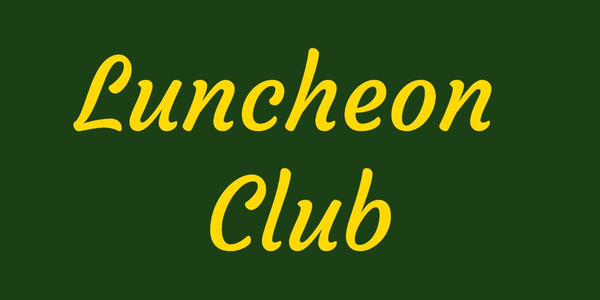 Luncheon club* Luncheon club meets on the second Wednesday of each month from 12-2pm and anyone of retirement age, who lives in the village, is welcome.