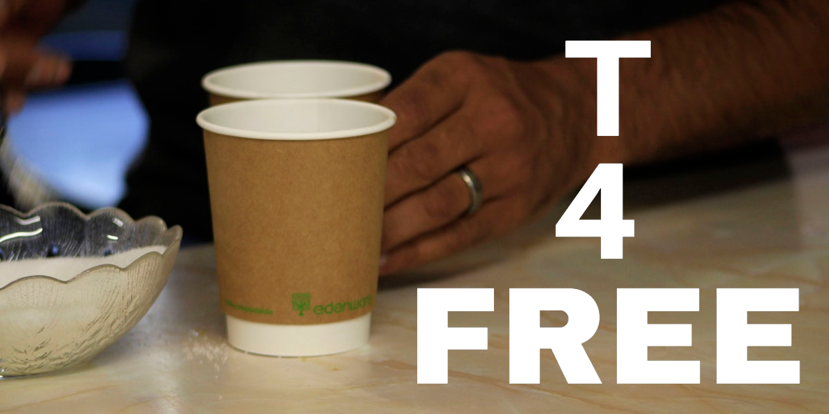 T 4 Free* T 4 free happens on 1st & 3rd Saturday. Martin Wells leads a group to give out free cup's of Tea & Coffee in Ely.